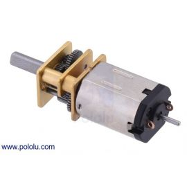120RPM Micro Metal Gearmotor HPCB 12V with Extended Motor Shaft