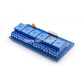 6 Channel Relay Module with light  coupling 5V