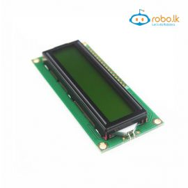 LCD1602 Yellow Green Backlight