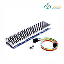 MAX7219 Dot Matrix Module Microcontroller Module 4 in 1 Display