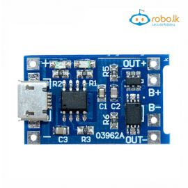TP4056 1A Lipo Battery Charging Board Micro USB with current protection