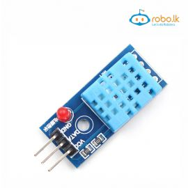 DHT11 Temperature And Humidity Sensor Module with LED