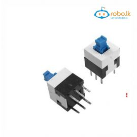 7x7mm Through Hole Self-Lock lock Push Switch