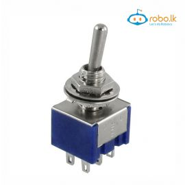 Mini MTS-203 6-Pin SPDT ON-OFF ON 6A 125VAC Toggle Switches