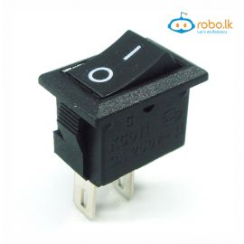 KCD11 AC 250V 3A 2 Pin ON/OFF I/O SPST Snap in Mini Boat Rocker Switch