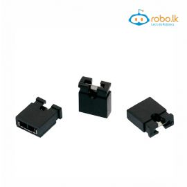 2.54mm Standard Circuit Board Computer Jumper Cap Shunts Short Circuit Cap Black