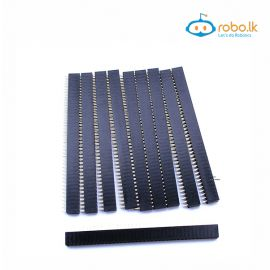 2x40pin Female header 2.54mm (1pcs)