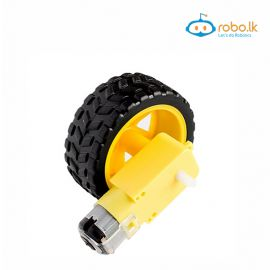 Motor + Robot Smart Car Wheel