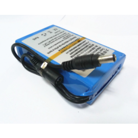 DC 12V 5000mah li-ion battery with charger