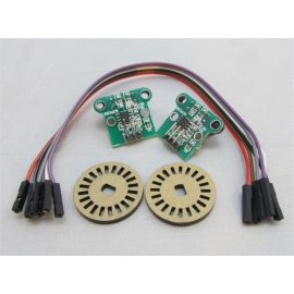 Double speed measuring module encoder photoelectric pulse output  module