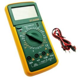 DT9205M Digital Multimeter Voltmeter Ohmmeter Ammeter Capacitance Tester (with Battery!!)