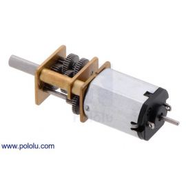 32RPM Micro Metal Gearmotor HP 6V with Extended Motor Shaft