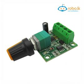 PWM DC motor speed regulator 1.8V, 3V, 5V, 6V, 12V, 2A speed control switch function