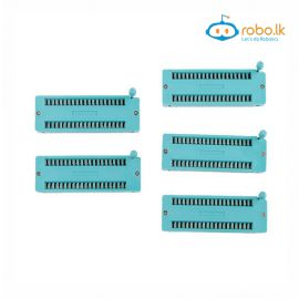 40pin ZIF Socket Sockets(Wide Body,MOQ10)