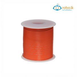 Bundle 24AWG 15cm Electronic Wire Cable Tinning Red