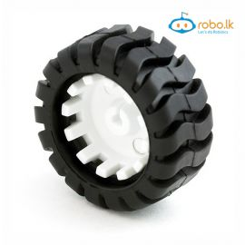 3PI miniq Car Wheel Tyre 42mm for N20 Motor