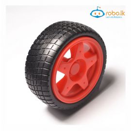 65mm Robot Smart Car Wheel Red