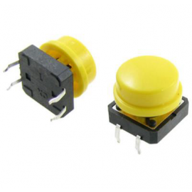 12x12x7.3mm Tactile Push Button Switch Round