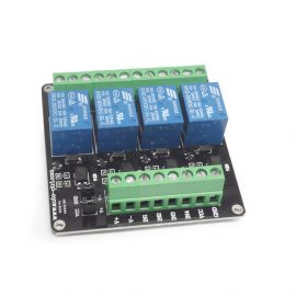 4 Channel Relay Module with light  coupling